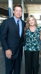 Current troy wife aikman Meet Catherine