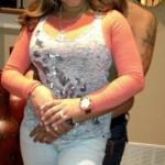 Felix Hernandez and wife Sandra Hernandez