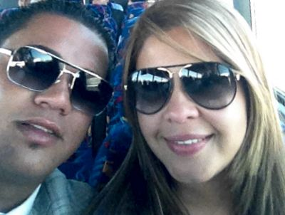 Felix Hernandez's wife Sandra Hernandez
