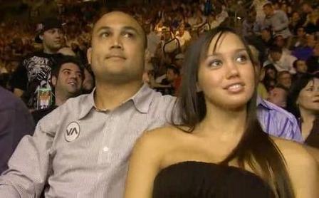BJ Penn's girlfriend Shealen Uaiwa