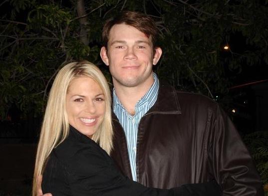 Forrest Griffin e sua namorada, esposa e mulher Jaime Griffin