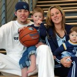 Mike Miller's wife Jennifer Miller @ nba.com