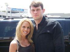 Forrest Griffin's wife Jaime Griffin