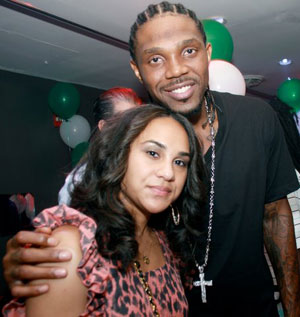 Udonis Haslem's girlfriend Faith Rein