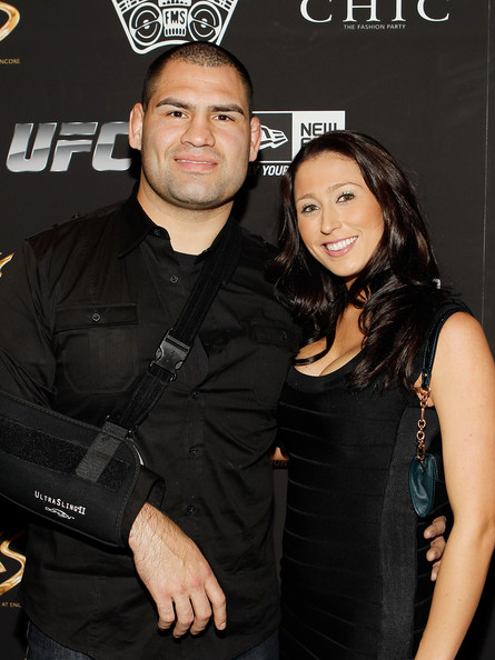 Cain Velasquez with beautiful, friendly, sweet, Wife Michelle Borquez