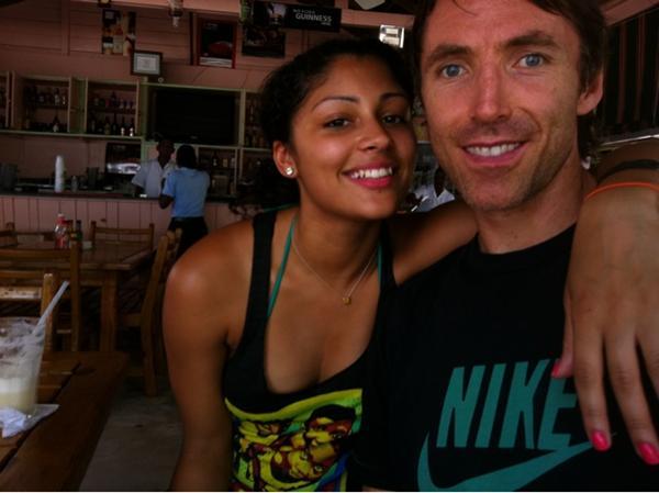 Steve Nash's girlfriend Brittany Richardson