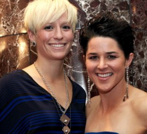 Megan Rapinoe's Girlfriend Sarah Walsh