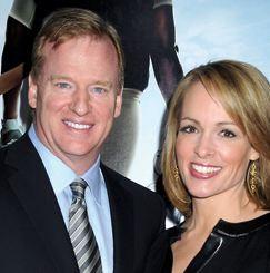 Roger Goodell's wife Jane Skinner @ sportsbusinessdaily.com