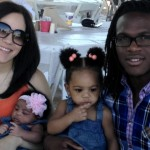Jamaal Charles' wife Whitney Charles and their children