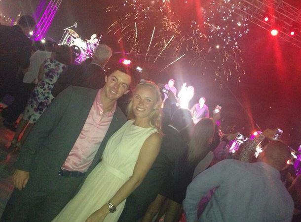 Rory McIlroy's wife Caroline Wozniacki