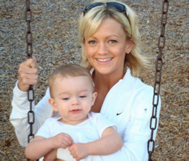 Shaun Marcum's wife Stephanie Marcum