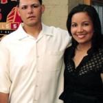 Yadier Molina's wife Wanda Molina @ rachelsredbirdramblings.com
