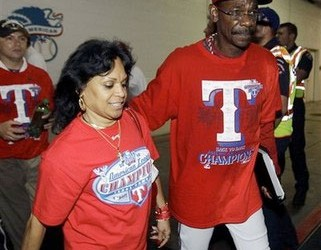 Ron Washington Wife