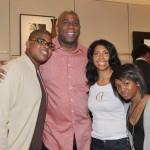 Magic Johnson's wife Cookie Johnson @ blackcelebkids.com