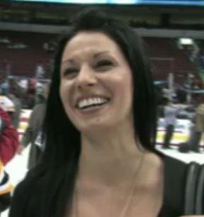David Krejci's girlfriend Naomi Starr