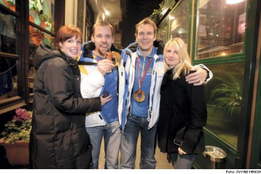 Nicklas Lidstrom's wife Annika Lidstrom @ expressen.se