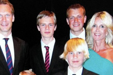 Nicklas Lidstrom's wife Annika Lidstrom