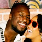 Vernon Davis and girlfriend Natalie Nunn @ radaronline.com
