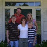 Shelley Budke and Family