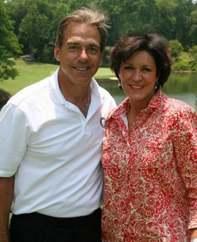 Nick Saban's wife Terry Saban