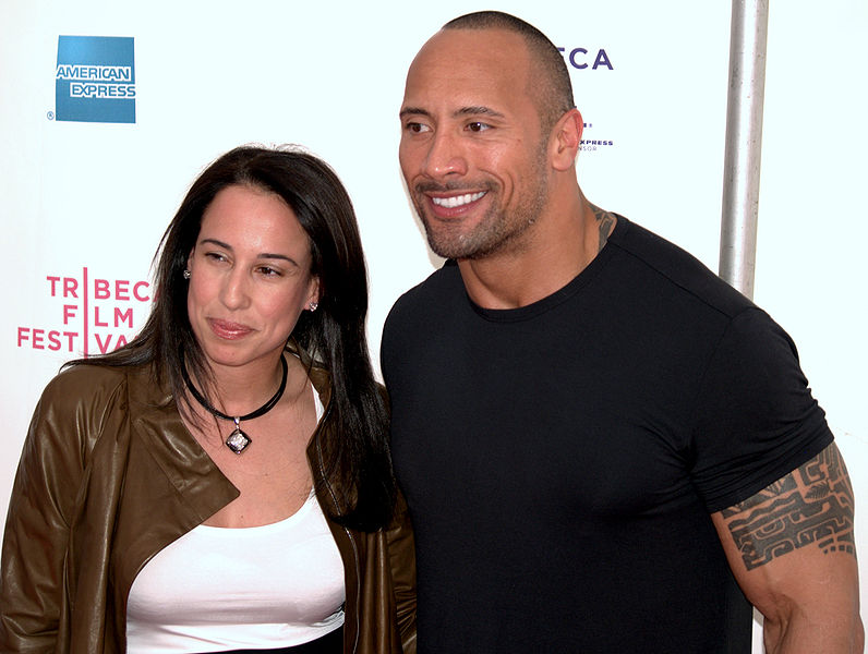 The Rock's wife (ex) Dany Garcia - Player Wives & Girlfriends