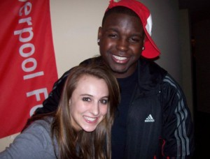 Montee Ball's girlfriend Anne Marie Jahnke