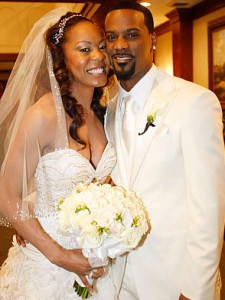 Aaron Ross' wife Sanya Richards-Ross