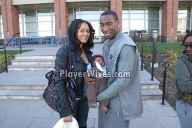 Mario Manningham's girlfriend Tiffany Hughley