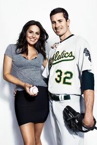 Brandon McCarthy's wife Amanda McCarthy