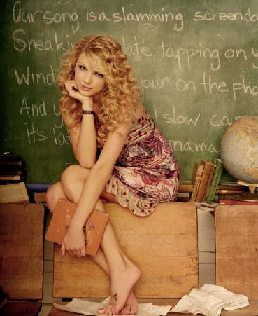 Tim Tebow's girlfriend Taylor Swift