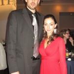 Marc Gasol's girlfriend Cristina Blesa @ gomemphis.com