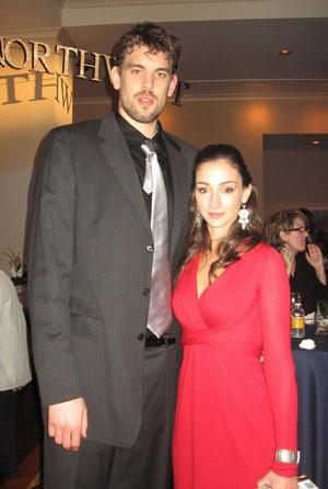 Marc Gasol's wife Cristina Blesa