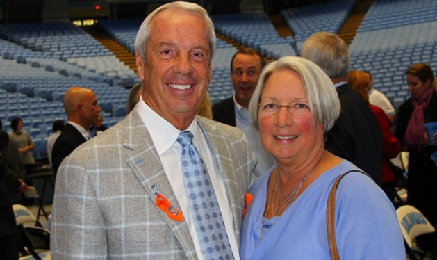 Roy Williams' wife Wanda Williams