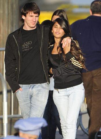 Lionel Messi's fiancee Antonella Rocuzzo
