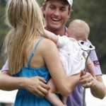 Webb Simpson's Wife and Son
