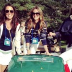 Fred Couples' 2014 girlfriend Nadine Moze