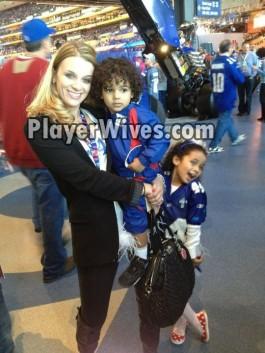 Ahmad Bradshaw's Wife Jessica Marcus and their Children