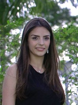 Kaka's wife Caroline Celico
