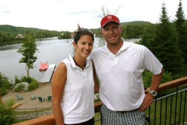 Martin Brodeur S Wife Genevieve Nault Playerwives Com