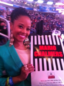 Mario Chalmers girlfriend Tiffany Graves