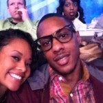 Mario Chalmers' girlfriend Tiffany Graves