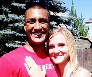 Ashton Eaton's girlfriend Brianne Theisen