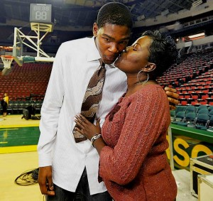 Kevin Durant's mother Wanda Pratt
