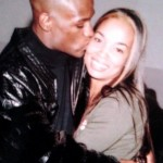 Josie Harris and ex-boyfriend Floyd Mayweather Jr