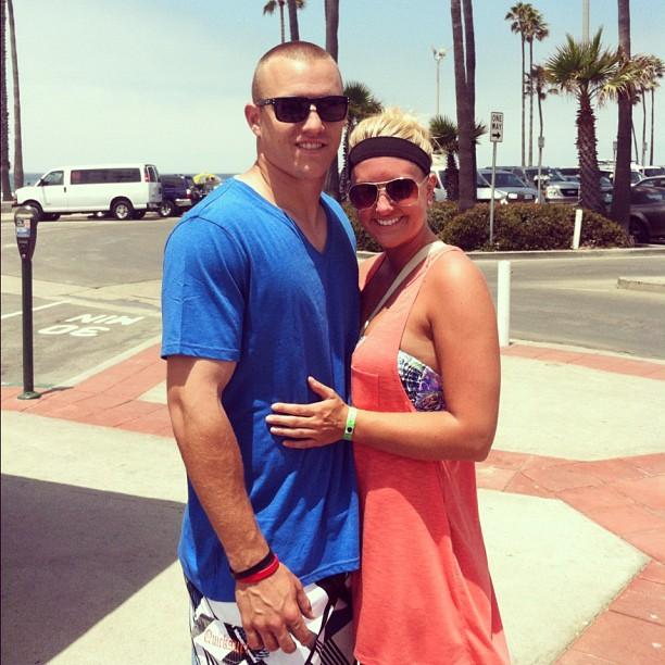 Mike Trout's wife Jessica Tara Cox