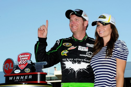 Dale Earnhardt Jr's Girlfriend Amy Reimann