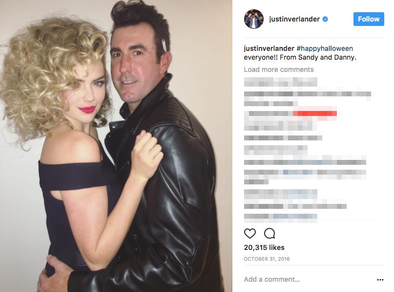 Justin Verlander's girlfriend Kate Upton?