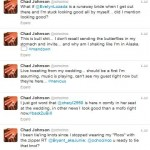 Chad Ochocinco Live Tweets Wedding 1/4