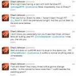 Chad Ochocinco Live Tweets Wedding 3/4