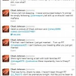 Chad Ochocinco Live Tweets Wedding 4/4